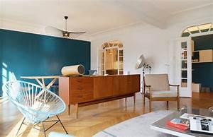 design nordique double sejour art deco With salle de bain design avec tableau art contemporain design décoration