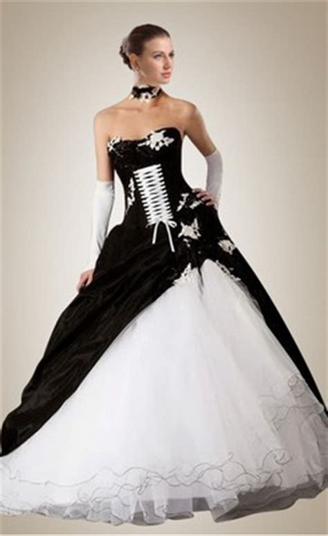 cheap black and white wedding dresses for sale at wholesale price weddingdresstrend
