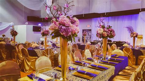 purple and gold wedding theme gold and purple wedding