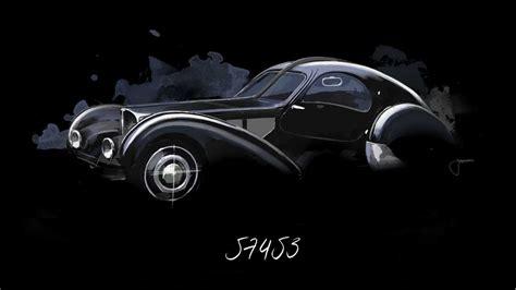"""La voiture noire, meaning the black car, had already sold for a hefty us$12.3 million before the covers were ripped off. Le mystère de la """"Voiture Noire"""" perdue de Bugatti"""