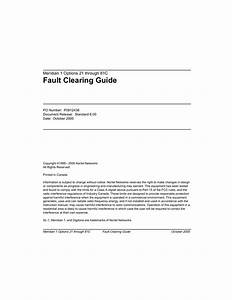 Task Fault Clearing Guide