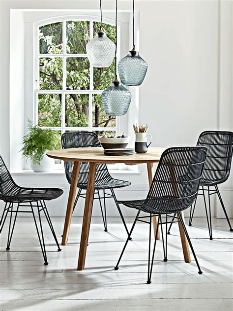 rattan kitchen table and chairs best 25 rattan dining chairs ideas on dining
