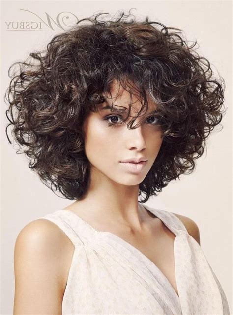 2019 popular medium bob hairstyles for curly hair