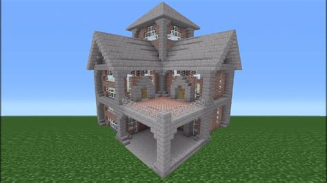minecraft tutorial brick house  youtube