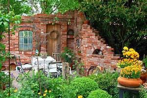 Ruinenmauer wundervolle idee garten pinterest for Feuerstelle garten mit balkon fliesen obi