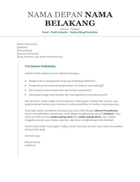 Contoh Surat Kronologi by Surat Lamaran Kerja Resume Kronologis Office Templates