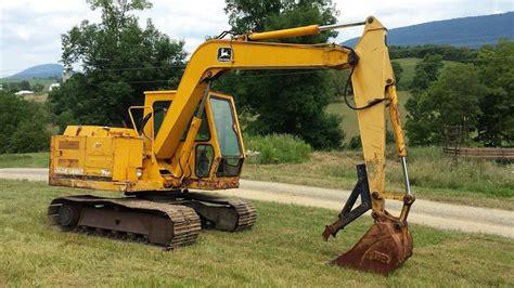 john deere  midi excavator youtube