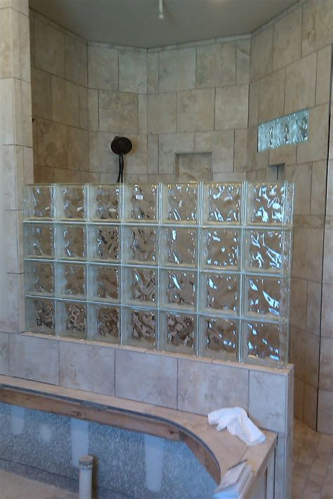 Glass Block Designs For Bathrooms glass blocks bathroom search great bathrooms in
