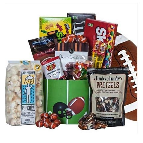 cool gifts for football fans touch down football gift box great gifts for football fans