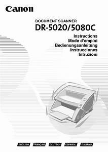 Dr-5020 Manuals
