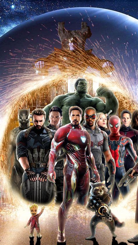 wallpaper avengers infinity war superheroes marvel
