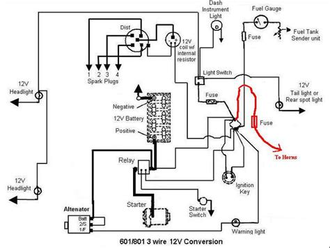 Ford Tractor Wiring by Ford 3000 Tractor Wiring Diagrams