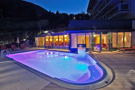 heated outdoor pool at the hotel in zell am see hotel berner