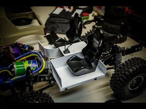 Rc Crawler Isuzu Amigo Custom Styrene Interior Build Part