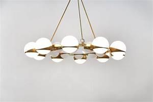 Grand Lustre Design : grand lustre italien moderne style stilnovo chandelier ~ Melissatoandfro.com Idées de Décoration