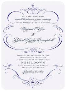 wedding invitations 1 formal wedding invitations what 39 s your wedding invitation style formal