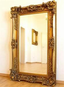 Grand Miroir Baroque : grand miroir baroque 156x95cm glace cheminee rococo style louis xv rocaille ebay ~ Teatrodelosmanantiales.com Idées de Décoration