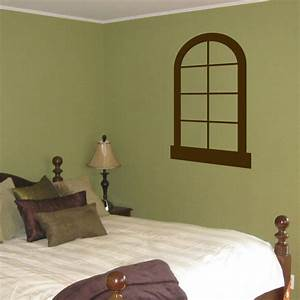faux window vinyl wall decal With faux window wall decal for home