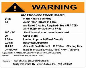 whats new for arc flash requirements in the 2017 national With arc flash labels nfpa 70e 2015
