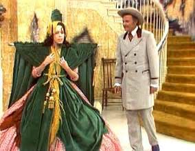 With The Wind Curtain Dress Pattern by Scarlet O Hara Costume Rhett Butler Abe Lincoln With