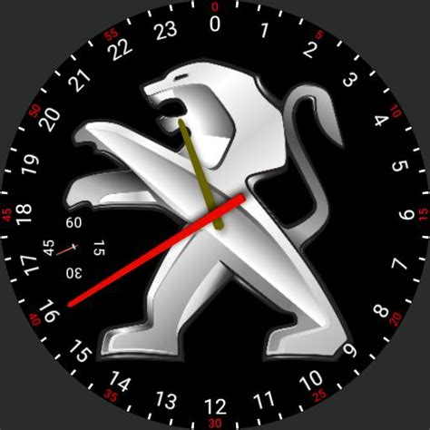 peugeot logo 2017 peugeot logo watch faces for smart watches