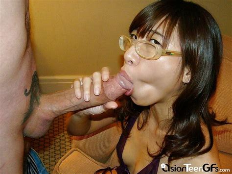 Nice Vietnamese Slut Sucks Big Dick Asian Girlfriend