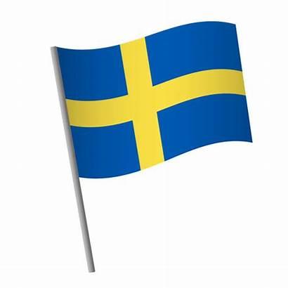 Flag Sweden Swedish Icon Illustrations National United