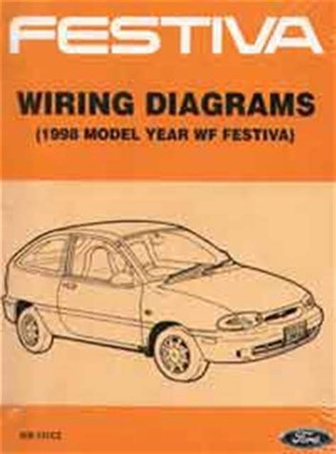Ford Festiva Wiring Diagram Pdf by 1999 Ford Festiva Workshop Manual