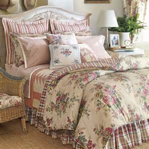 full chaps wainscott floral plaid bedskirt sham