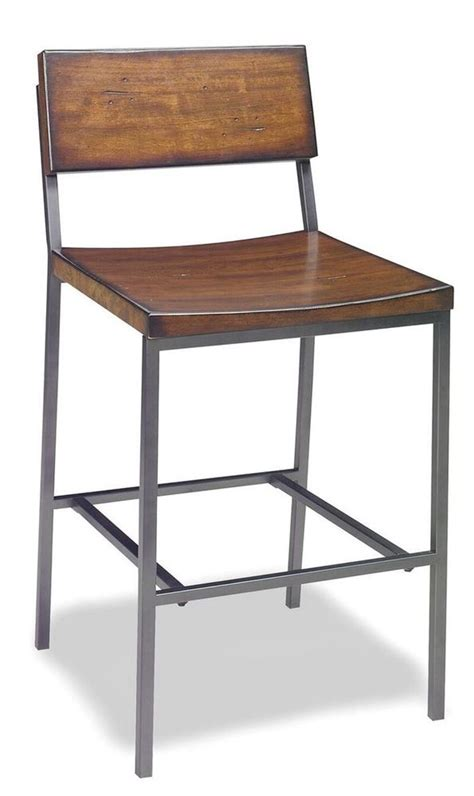 High Stool Chairs For Kitchen by Details About Square Wooden Seat Bar Counter Stool High