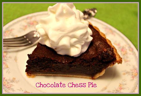 chocolate chess pie sweet tea and cornbread chocolate chess pie