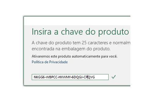 baixar chave de produto office 2013
