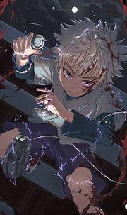 Killua by DATimya   Hunter anime, Hunter x hunter, Anime