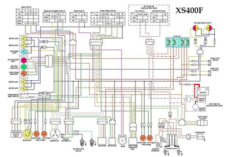 1979 Xs650 Electronic Ignition Wiring Diagram by Xs400f Wiring Diagram Cool Stuff Diagram Motorcycle
