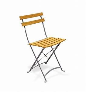 Chaise Pliante De Jardin : chaise pliante de jardin en metal ~ Teatrodelosmanantiales.com Idées de Décoration