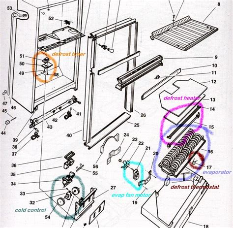 Wire Schematic For Kenmore Upright Freezer by Side By Side Mzd2766ge Not Dispensing Fixya