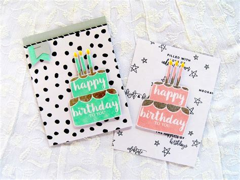 winnie walter blog birthday cake card card making