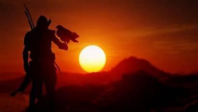 Creed Origins Sunset Wallpapers 5k Assassin Hdwallpaperslife