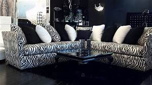 4344 l shaped zebra sofa flickr photo sharing With zebra sectional sofas