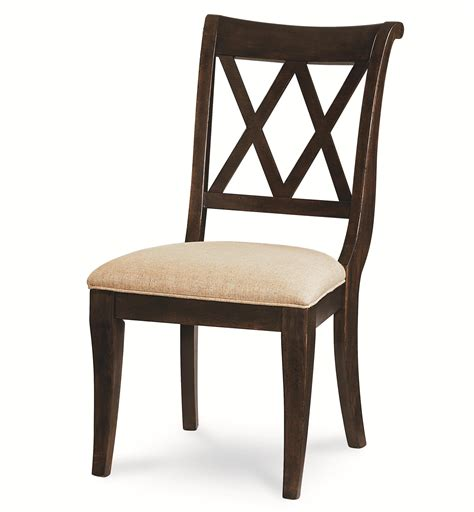 x back dining chairs legacy classic thatcher 9 dining set with x back 1680