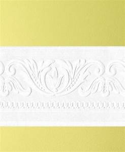 Classic Scrool Paintable Border Wallpaper
