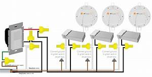 Wiring Diagram For Multiple Pot Lights
