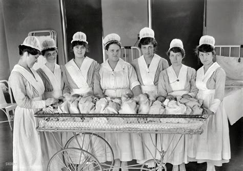 washington dc circa  maternity ward nurses