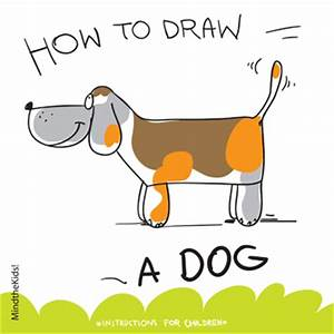Mind The Kids | How to draw a dog