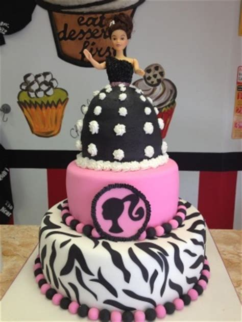 barbie cake  year olds   years  pinterest