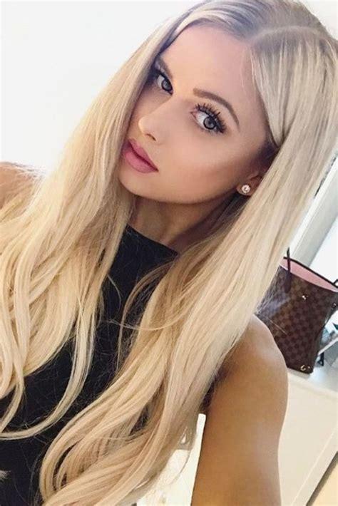frisuren blonde haare frauen hair color hair styles hair