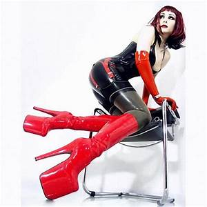 20 Cm High Heels : 20cm high heeled shoes red bottom shoes japanned leather ~ Lateststills.com Haus und Dekorationen
