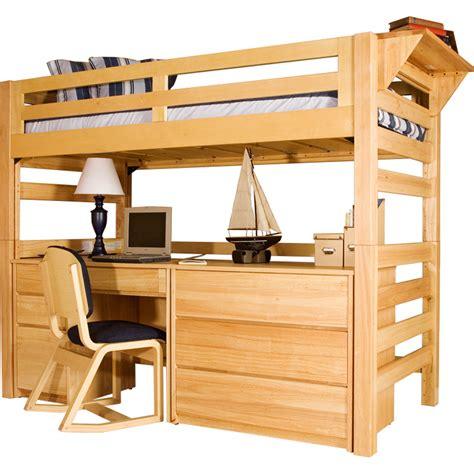 loft bed loft graduate series xl open loft bed