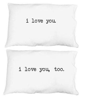 i you i pillow cases i you pillow