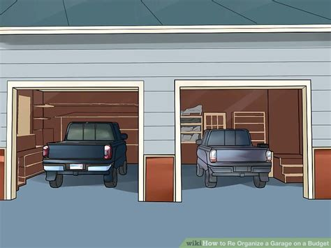 How To Re Organize A Garage On A Budget (with Pictures